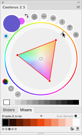 Coolorus - the best color wheel for Photoshop